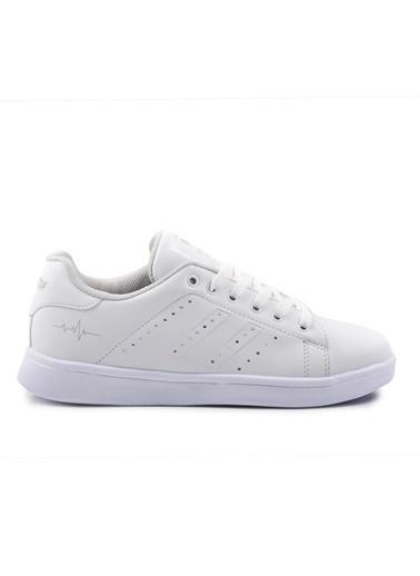 Bestof 041 Siyah-Siyah Spor Ayakkabı Beyaz